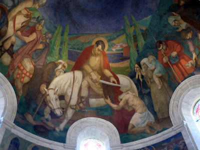 Fresques de saint Martin