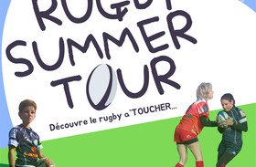 Affiche Rugby Club Pays d'Ancenis initiation rugby à toucher