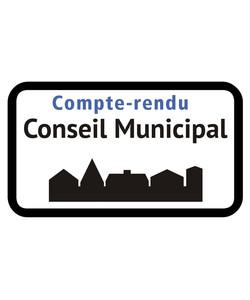 Compte rendu des deux séances de Conseil Municipal du 23 mars 2020
