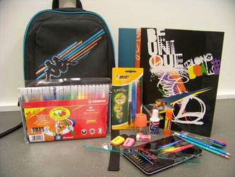 kit scolaire offert aux jeunes Cellariens pour leur rentrée en 6e