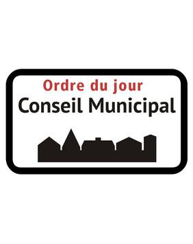 Ordre du jour du Conseil Municipal du 27 mai 2020