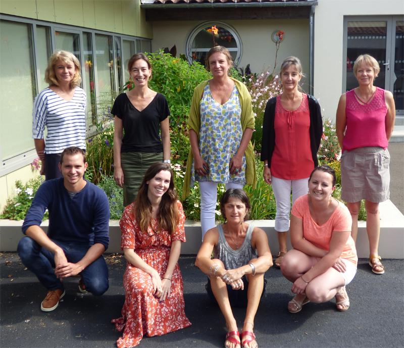 Équipe de l'école maternelle publique Les Lonnières